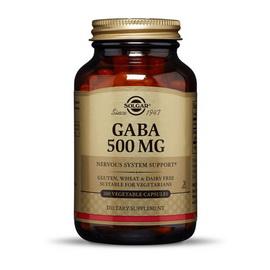 GABA 500 mg (100 veg caps)