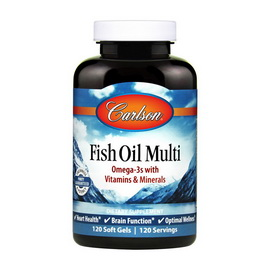 Fish Oil Multi (120 softgels)