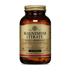 Magnesium Citrate (120 tabs)