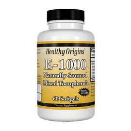 Vitamin E-1000 (60 softgels)