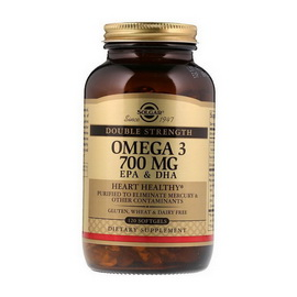 Omega-3 700 mg EPA & DHA (120 softgels)