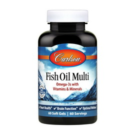 Fish Oil Multi (60 softgels)