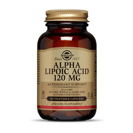 Alpha Lipoic Acid 120 mg (60 veg caps)