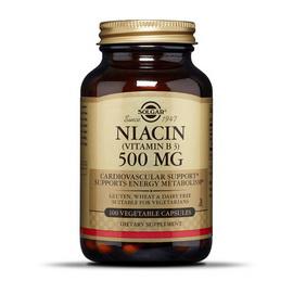 Niacin 500 mg (100 veg caps)