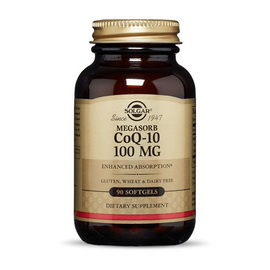CoQ-10 100 mg Megasorb (90 softgels)