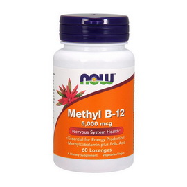 Methyl B-12 5000 mcg (60 lozenges)
