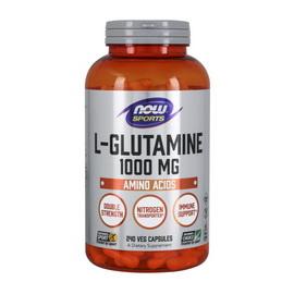 L-Glutamine 1000 mg (240 veg caps)