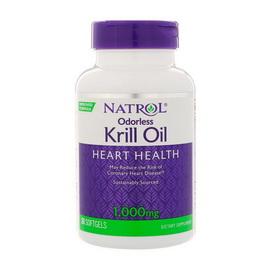 Odorless Krill Oil Heart Health 1000 mg (30 softgels)