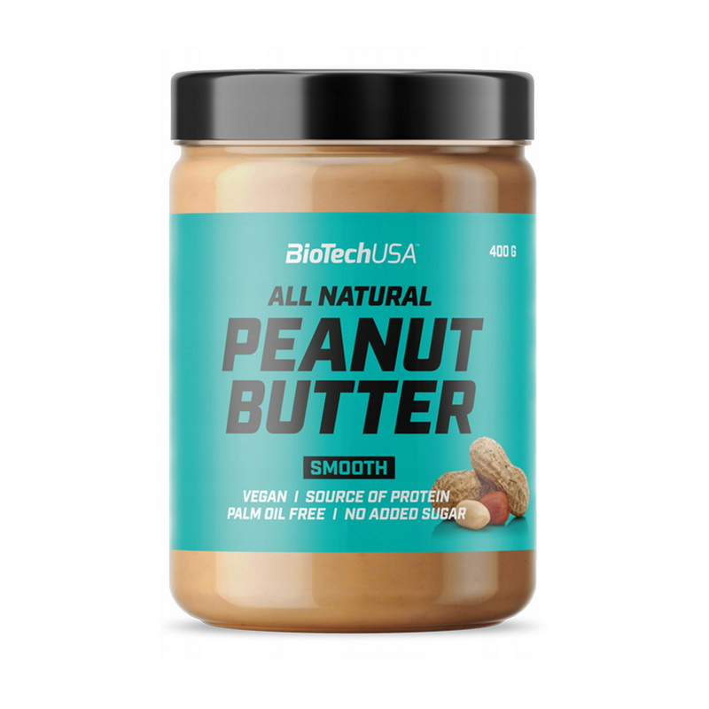 All Natural Peanut Butter Smooth (400 g)