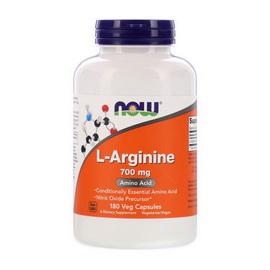 L-Arginine 700 mg (180 veg caps)