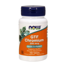 GTF Chromium 200 mcg (100 tabs)