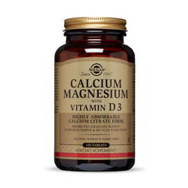 Calcium Magnesium with Vitamin D3 (150 tabs)