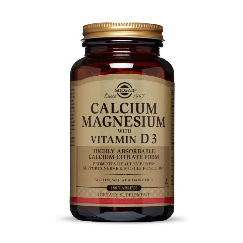 Calcium Magnesium with Vitamin D3 (150 tabs)