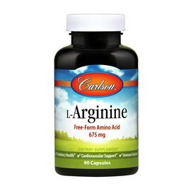 L-Arginine Free-Form Amino Acid 675 mg (90 caps)