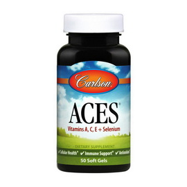ACES Vitamins A,C,E + Selenium (50 softgels)