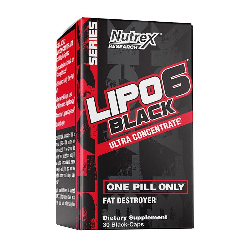 Lipo 6 Black Ultra Concentrate (30 black caps)