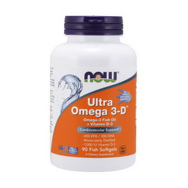 Ultra Omega 3-D (90 softgels)