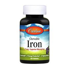 Chewable Iron 27 mg (60 tabs)