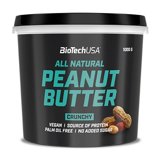 All Natural Peanut Butter Crunchy (1 kg)