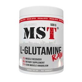 L-Glutamine Raw Unflavored (500 g)
