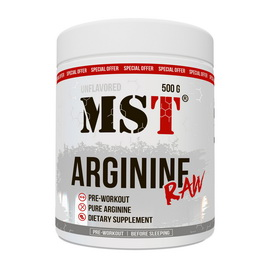 Arginine Raw Unflavored (500 g)