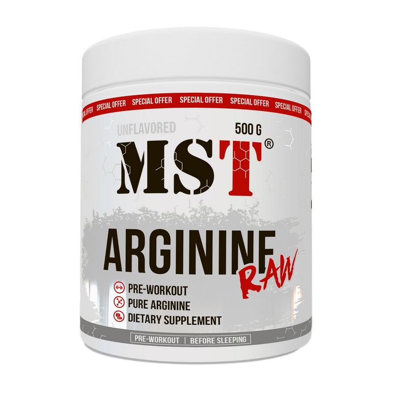 Arginine Raw Unflavored (500 g)