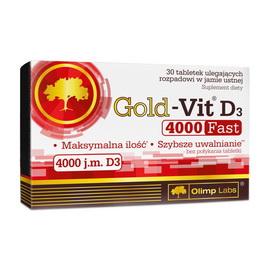 Gold-Vit D3 Fast 4000 (30 tabs)