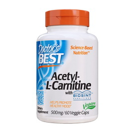 Acetyl-L-Carnitine with Biosint (60 veg caps)