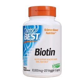 Biotin 10 000 mcg (120 veg caps)