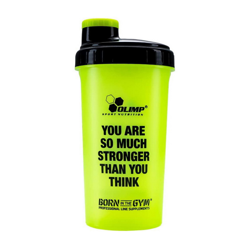 "Shaker ""You Are So Much Stronger Than You Think"" Green (700 ml)"