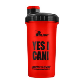 """Shaker """"Yes I Can!"""" Red (700 ml)"""