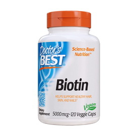 Biotin 5000 mcg (120 veg caps)