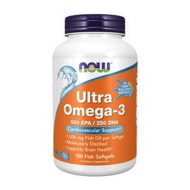 Ultra Omega-3 (180 fish softgels)