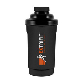 Shaker Extrifit Black (600 ml)