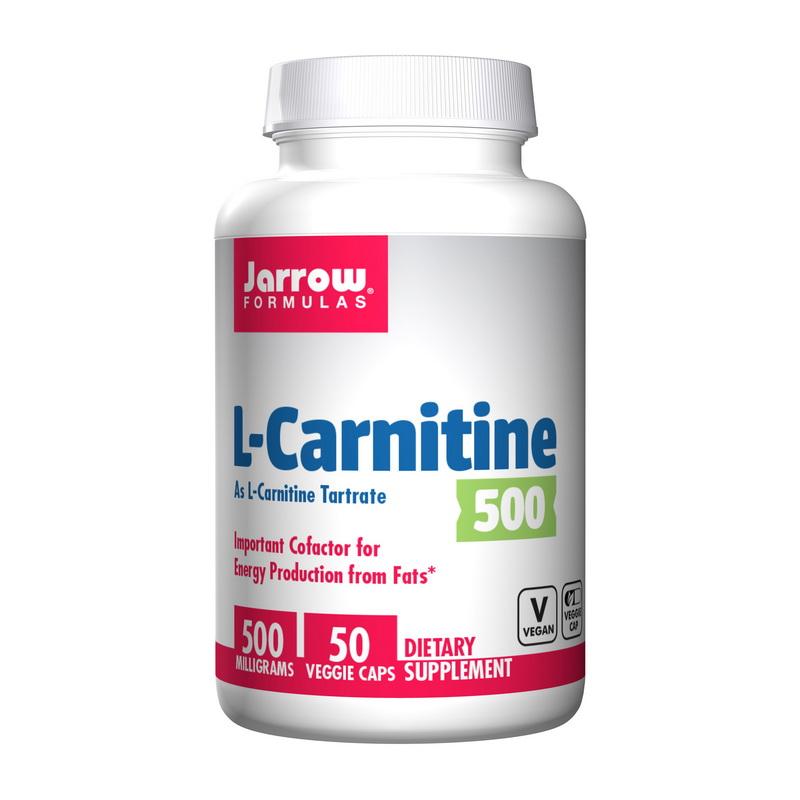L-Carnitine 500 mg (50 veg caps)