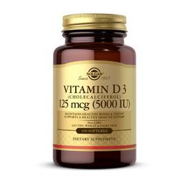 Vitamin D3 5000 IU (100 softgels)