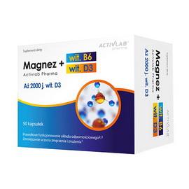 Magnez + wit. B6 + wit. D3 (50 caps)
