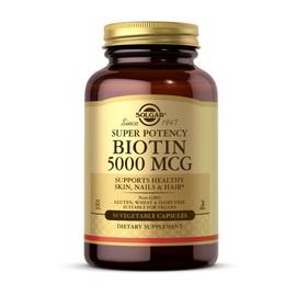Biotin 5000 mcg (50 veg caps)