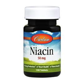 Niacin 50 mg (100 tabs)