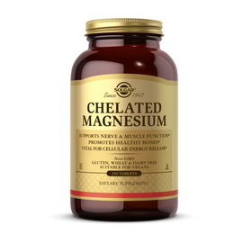 Chelated Magnesium (250 tabs)