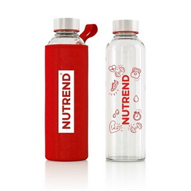 Glass Bottle Red (800 ml)