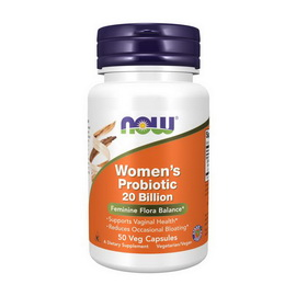 Women`s Probiotic 20 Billion (50 veg caps)