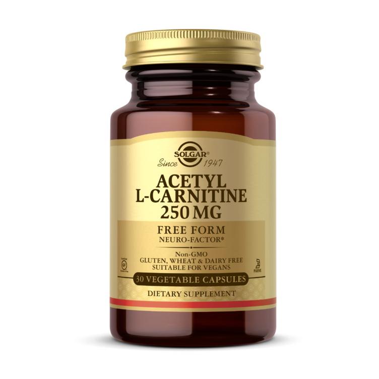 Acetyl L-Carnitine 250 mg (30 veg caps)