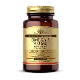 Omega 3 700 mg with 600 mg EPA & DHA (30 softgels)