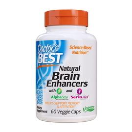 Natural Brain Enhancers (60 veg caps)