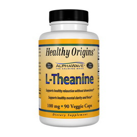 L-Theanine 100 mg (90 veg caps)