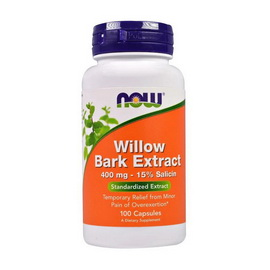 Willow Bark Extract 400 mg (100 caps)
