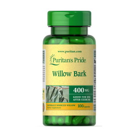 Willow Bark 400 mg (100 caps)