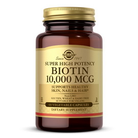 Biotin 10 000 mcg (60 veg caps)