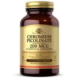 Chromium Picolinate 200 mcg (180 veg caps)